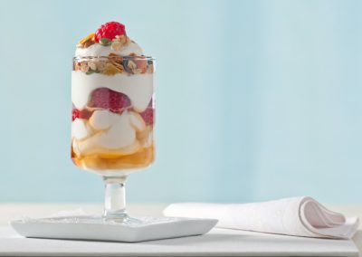 Peach Breakfast Parfait